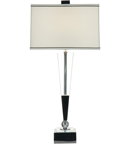 Wildwood Lamps Inverted Crystal Table Lamp In Polished