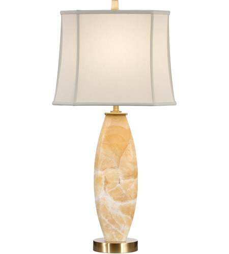Wildwood Lamps Stone Column Table Lamp in Antique Patina 22324 photo