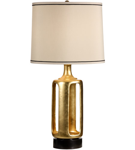 Wildwood Gold Leaf Finish Table Lamps