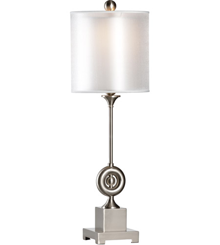 Brushed Nickel Transitional Table Lamps