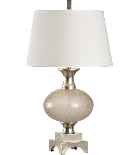 Silver Transitional Table Lamps