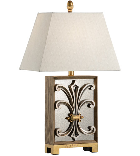 Wildwood Antique Silver Leaf Table Lamps