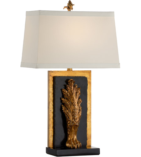 Wildwood Antique Gold Leaf Table Lamps