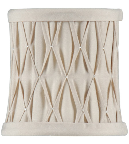 Wildwood Lamps Taupe Silk Chandelier Shade 24003 photo