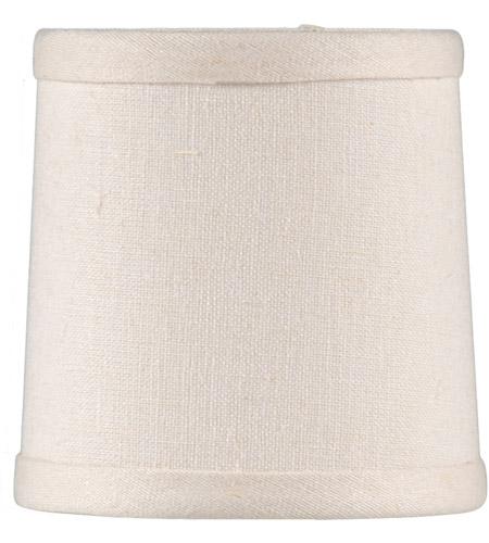 Wildwood Lamps Cream Linen Chandelier Shade 24006 photo