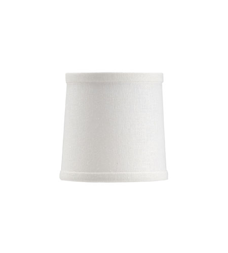 Wildwood Lamps Signature White Chandelier Shade Shade 24010 photo
