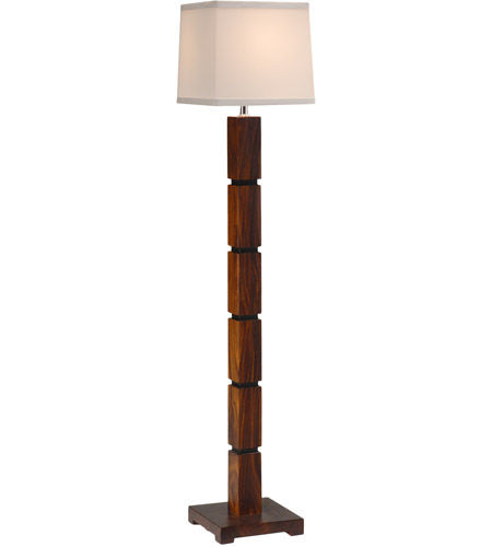 Wildwood Lamps Sektor Floor Lamp in Aubergine 25070 photo