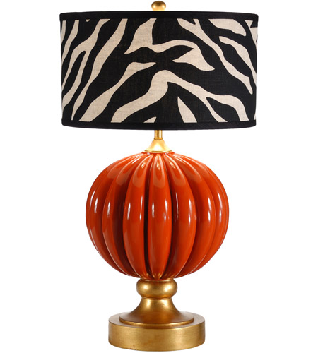 Wildwood Lamps Pia Table Lamp in Designer Color On Composite-Lava 26062-2 photo