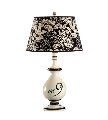 Wildwood Lamps Studio W Onyx Number 9 Marina Lamp - Onyx 26083-2 photo