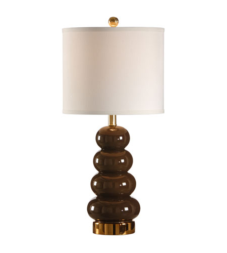 Wildwood Lamps Studio W Zoe Lamp - Espresso 26088 photo