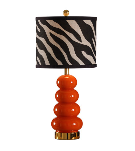 Wildwood Lamps Studio W Hand Painted Zoe Lamp - Lava 26089-2 photo