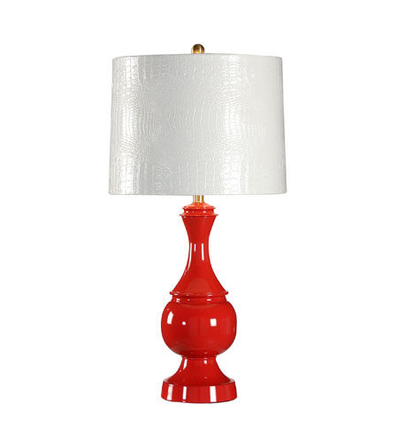Wildwood Lamps Studio W 1 Light Margeaux Table Lamp in Poppy 26104-2 photo