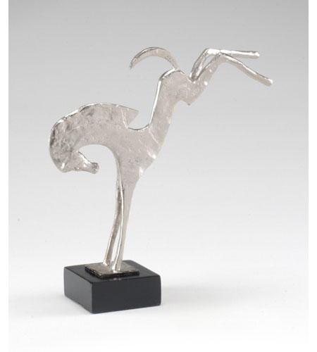 Wildwood Lamps Decorum by Mary Taylor Hand Finished Bucking Stallion - Cast Alloy On Marble 294202 photo