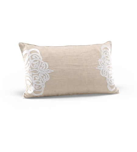 Wildwood Lamps 294701 Decorum By Mary Taylor Wheat Linen Pillow photo