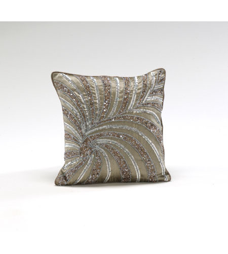 Wildwood Lamps 294703 Decorum by Mary Taylor 12 inch Ash Brown Pillow photo