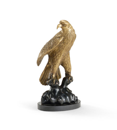 Wildwood Lamps Signature Eagle Decor Accessory in Brass Antique Patina 300529 photo