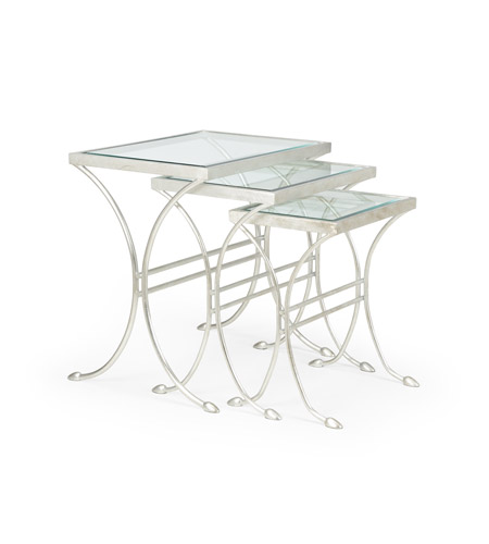 Silver Leaf Iron Tables