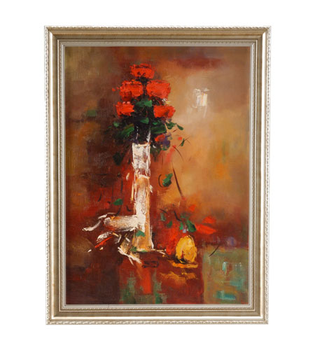 Wildwood Lamps Miscellaneous Hand Painted Framed Oil Painting - Wood Frame 394957 photo