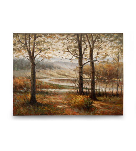 Wildwood Lamps Signature Oil Painting on Canvas 394975 photo