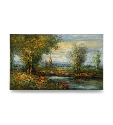 Wildwood Lamps Signature Oil Painting on Canvas 394980 photo