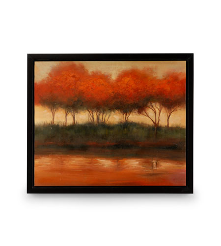 Wildwood Lamps Signature Oil Painting on Canvas with Frame 394997 photo