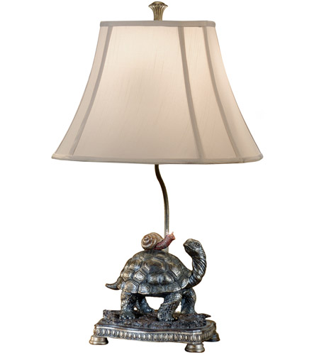 Wildwood Lamps Turtle And The Snail Table Lamp in Faux Bronze 46301 photo