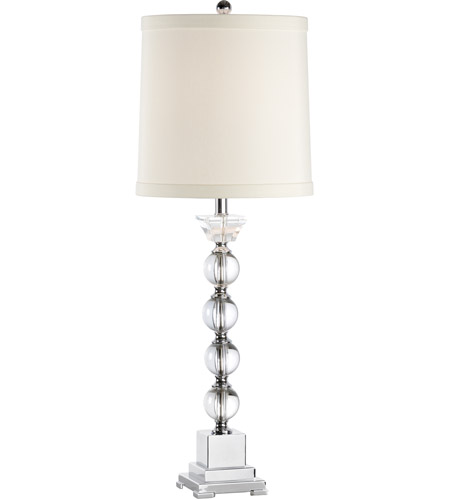 Wildwood Lamps Spheres Up Table Lamp in Crystal 46654 photo