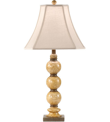 Wildwood Lamps Stacked Balls Table Lamp In Hand Painted