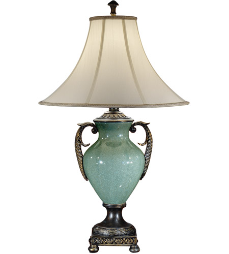 Wildwood Lamps Handled Urn Table Lamp in Faux Bronze 46858 photo