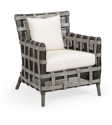 Wildwood 490155 Carlos Gray And Off White Accent Chair