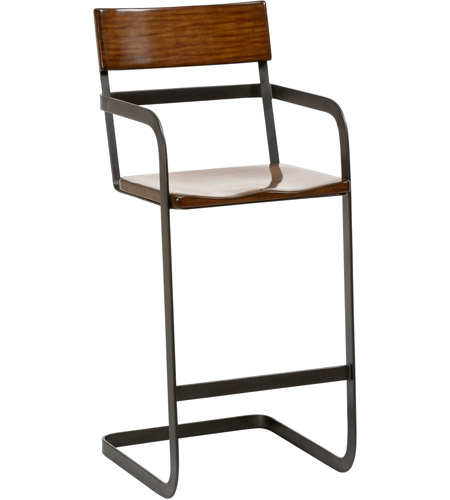 Magnificent Wildwood 490271 Oliver 44 Inch Walnut Bar Stool Creativecarmelina Interior Chair Design Creativecarmelinacom