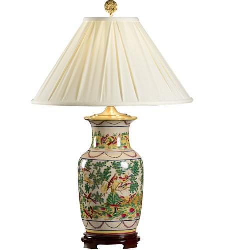 Wildwood 5236 Birds 30 Inch 100 Watt Hand Painted Porcelain Table Lamp  Portable Light Photo