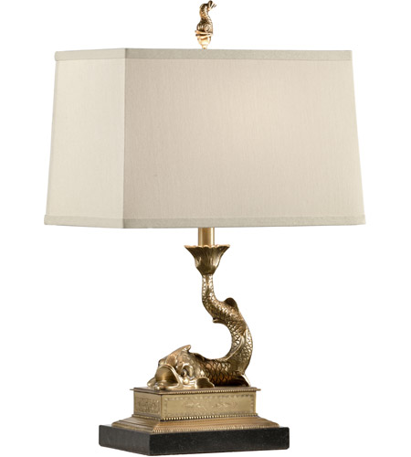 Cast Solid Brass Table Lamps