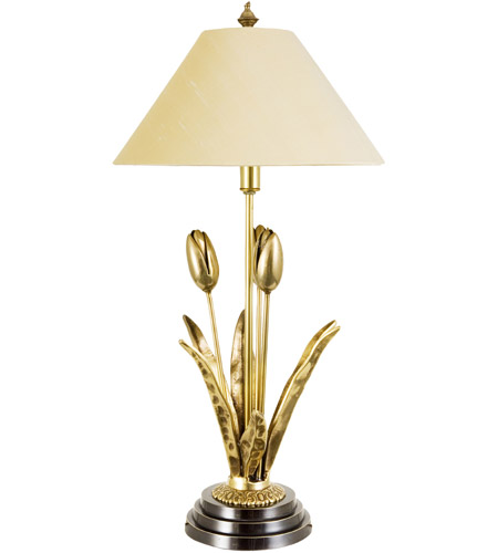 Frederick Cooper by Wildwood Lamps Bountiful Table Lamp in Antique Brass 65118 photo