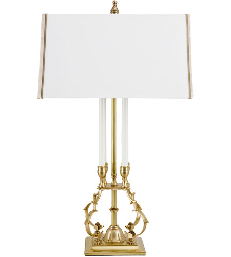 Wildwood Lamps 65137 Ronan 28 inch 100 watt Antique Brass Table Lamp Portable Light photo