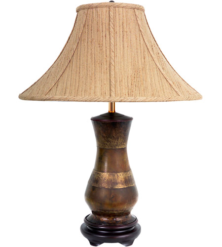 Frederick Cooper by Wildwood Lamps Koko Table Lamp in Aged Brown 65154 photo