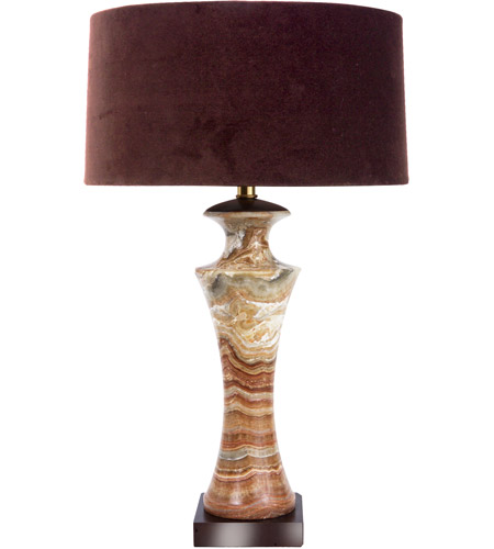 Frederick Cooper by Wildwood Lamps Cafe Macchiato Gross Table Lamp in Brown Marble 65172 photo