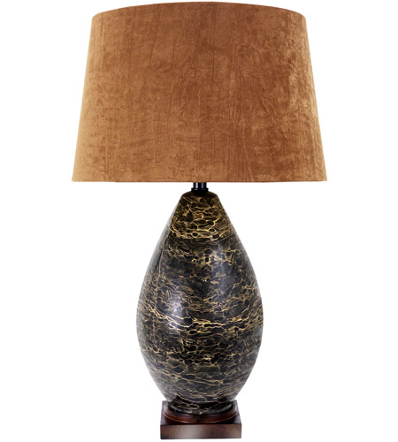Frederick Cooper by Wildwood Lamps Espresso Grosso Table Lamp in Coffee Colored Marble 65173 photo