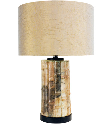 Wildwood Lamps Lao Table Lamp in Green Jade Stone 65185 photo