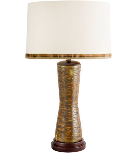 Wildwood Lamps Kairos Table Lamp in Green Stone 65188 photo