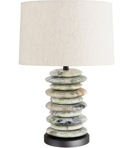 Frederick Cooper by Wildwood Lamps Cambria Table Lamp in Green Stone 65189 photo