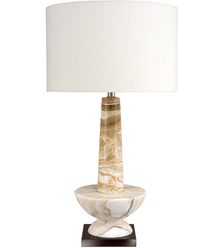 Frederick Cooper by Wildwood Lamps Alsab Table Lamp in Caramel Marble 65190 photo