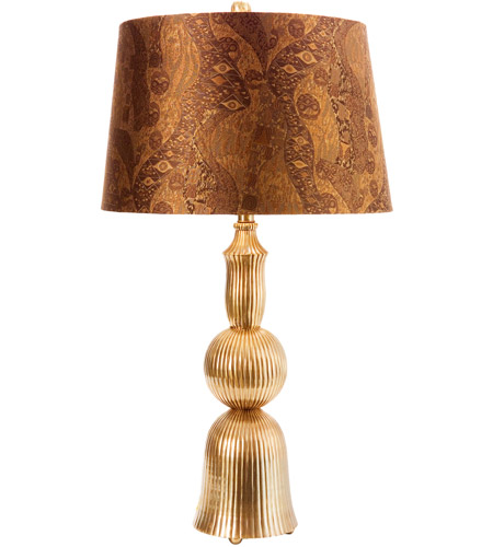 Wildwood Lamps Mulholland Drive I Table Lamp in Antique Brass 65241 photo