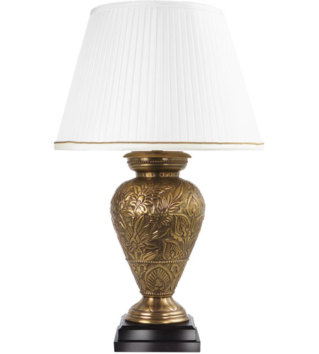 Frederick Cooper by Wildwood Lamps Dominea Table Lamp in Antique Brass 65267 photo