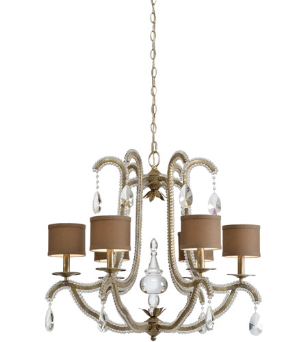 Antique Silver Leaf Chandeliers