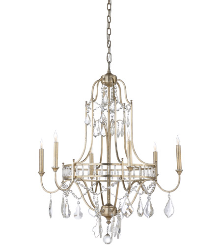 Wildwood Lamps Antique Silver Leaf Chandeliers