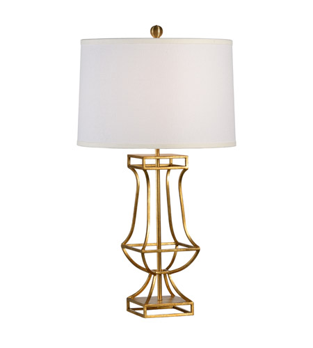 Cm 33 inch 100 watt antique gold leaf table lamp portable for 100 watt table lamps
