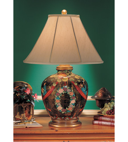Wildwood Lamps Lounging Monkey Table Lamp in Acrylic Lacquer On Porcelain 7351 photo