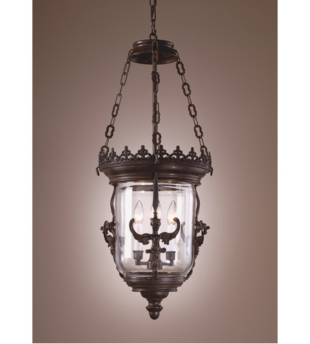 Wildwood Lamps Iron Gargoyles Lantern Hanging Lantern in Matte Finish7715 photo