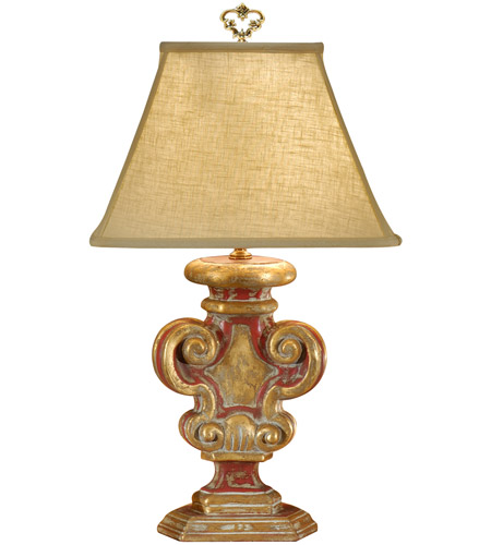 Wildwood Lamps 8883 Tuscan 30 Inch 100 Watt Hand Decorated Table Lamp  Portable Light Photo